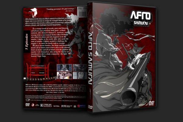 afro samurai dvd cover versão 2