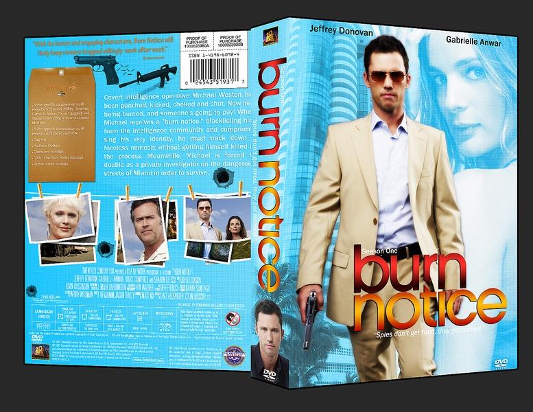 burn notice 1 temporada dvd cover