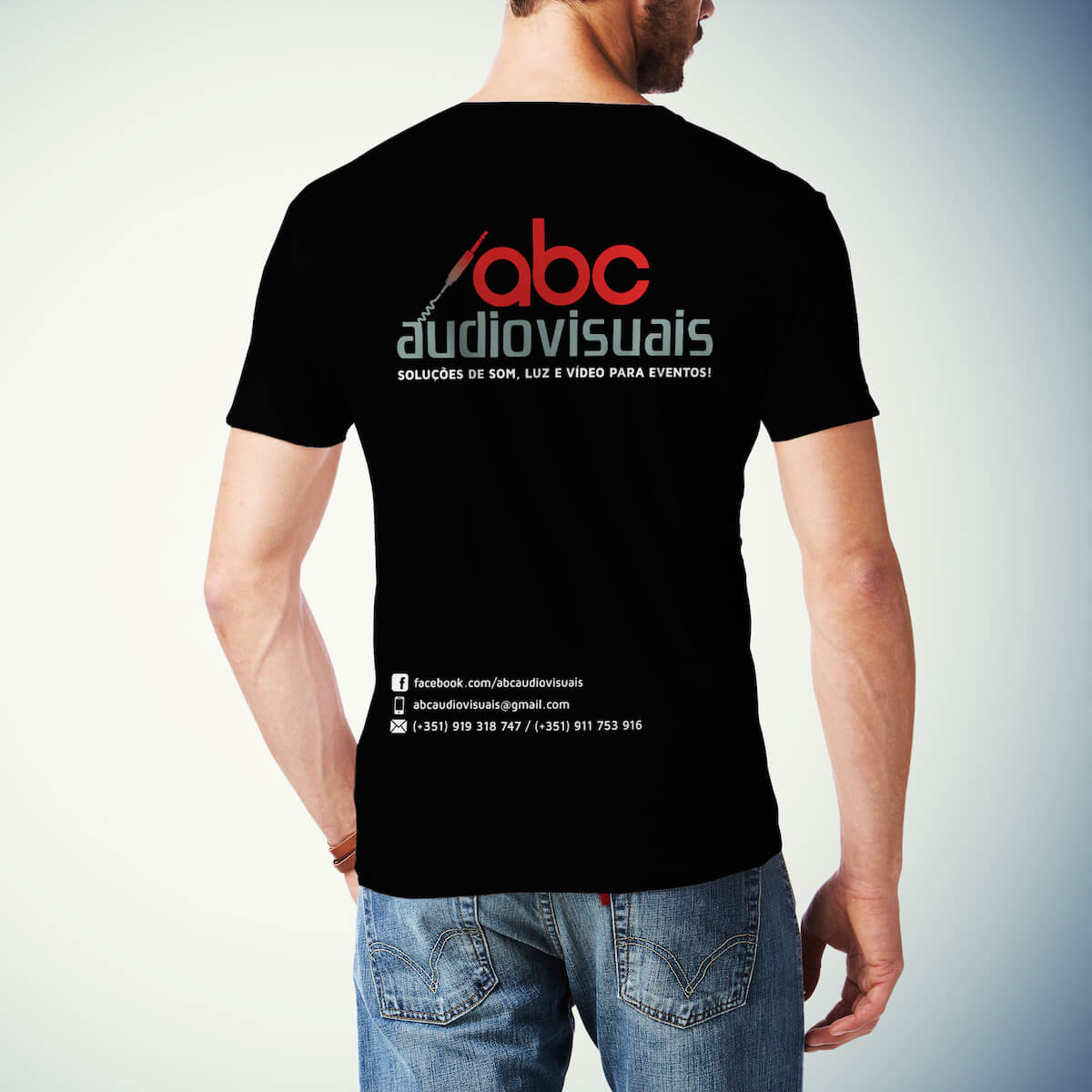 abc audivisuais tshirt